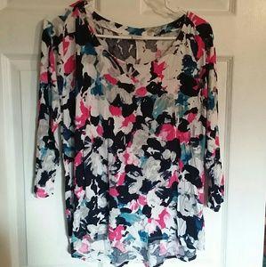 Liz Claiborne 3/4 sleeve size L